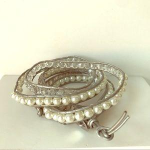 Anthropologie Florence Scovel Wrap Bracelet